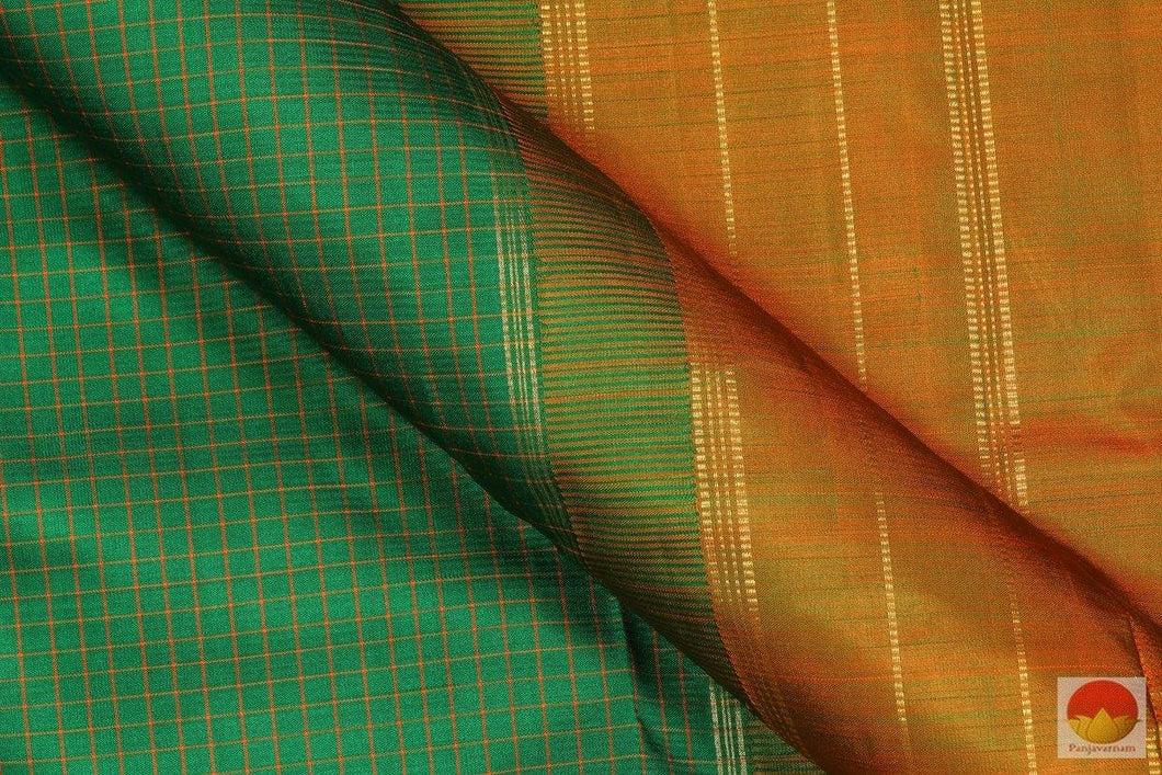 Lite Weight Handwoven Pure Silk Kanjivaram Saree - Pure Zari - PV SVS 11573