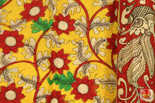 Load image into Gallery viewer, Handpainted Kalamkari Silk Saree - Organic Dyes - PKM 188 Archives