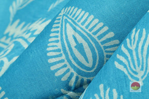 fabric texture of batik silk saree