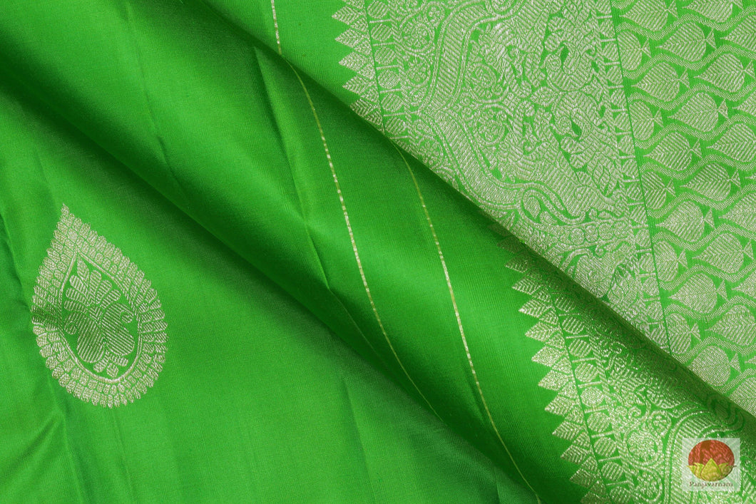 Traditional Design - Handwoven Pure Silk Kanjivaram Saree - Pure Zari - PV G 1902