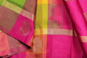 kanjivaram pure silk saree