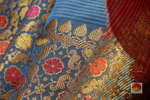 Handwoven Banarasi Soft Silk Cotton Saree - PSC 300 -  Archives