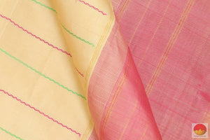 body detail of kanjivaram silk saree