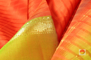 fabric texture of  kanjivaram silk saree