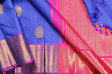 body and border detail of kanjivaram silk saree