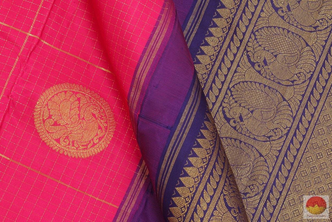 body detail of kanchipuram silk saree