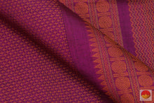 Load image into Gallery viewer, fabric texture of kanchi silk cotton saree