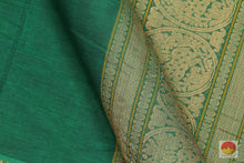 Load image into Gallery viewer, fabric detail of yarn in  cotton saree