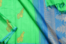 body and PALLU of kanjivaram silk saree