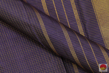 Load image into Gallery viewer, fabric detail of kanjivaram silk saree