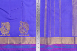 Traditional Design Handwoven Kanjivaram Pure Silk Saree - Pure Zari - PVM 0318 1371 Archives