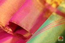 Load image into Gallery viewer, fabric texture of tissue silk saree