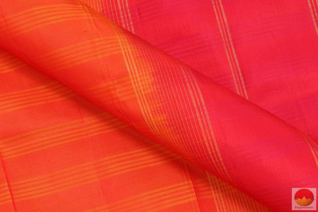 Mubbagam - Handwoven Pure Silk Kanjivaram Saree - PV RM 125 Archives