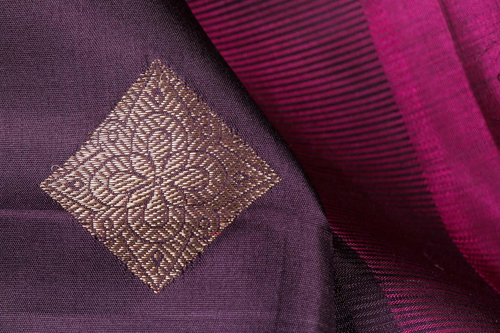 Traditional Design - Handwoven Kanjivaram Silk Saree - Pure Zari - PVM 0318 1010 Archives