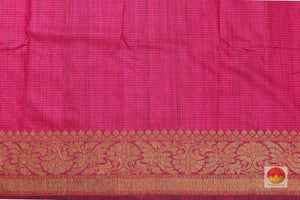 silk blouse of banarasi matka silk saree