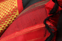 zari detail of kanjivaram pure silk saree