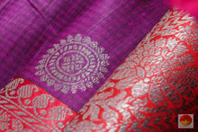 fabric texture of matka silk saree