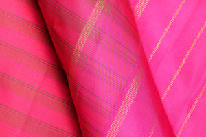 Traditional Design Handwoven Kanjivaram Pure Silk Saree - PVM 0518 1432