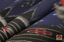 fabric detail of cotton saree