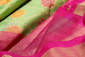 Panjavarnam Pochampally Silk Saree PPF 014 Archives