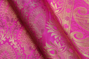 Traditional Design Handwoven Pure Silk Kanjivaram Saree - Bridal Saree - PBR 006