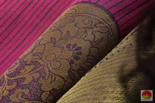 Load image into Gallery viewer, fabric texture of kanjivaram silk saree