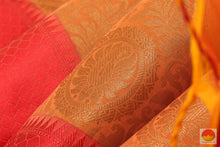 fabric detail of silk cotton saree