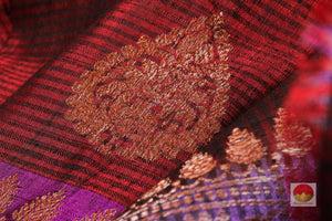 Handwoven Banarasi Pure Silk Saree - Matka Silk - PM 41 Archives