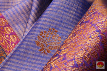 fabric texture of banarasi silk saree