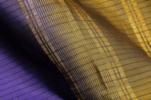 fabric texture of handwoven kanjivaram silk saree