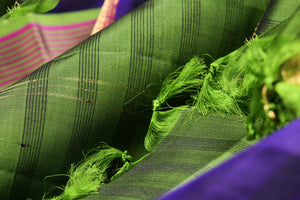 body detail of kanjivaram pure silk saree