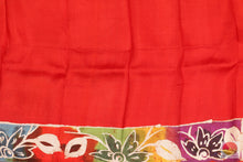 blouse of batik silk saree