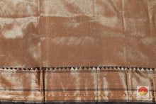 blouse of banarasi tussar silk saree