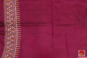 blouse of tussar silk saree