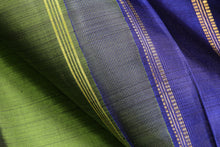 Fabric texture of traditional design handwoven kanjivaram silk saree