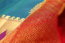 Traditional Design Handwoven Kanjivaram Pure Silk Saree - PVJL 0718 1538 Archives