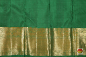 Traditional Design - Handwoven Pure Silk Kanjivaram Saree - Pure Zari - PV G 1825 -Archives Archives