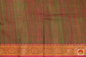 Handwoven Banarasi Silk Saree - Matka Silk - PM 38 Archives