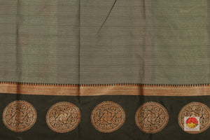 blouse of banarasi silk cotton saree
