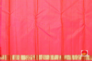 Traditional Design Handwoven Pure Silk Kanjivaram Saree - Pure Zari - PV SVS 10382 - Archives