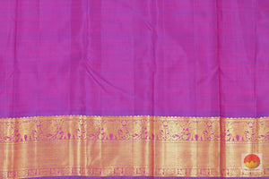 blouse details of kanjivaram silk saree