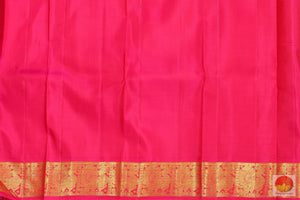 Kanchipuram Silk Saree - Handwoven Pure Silk - Pure Zari - PV RA 5
