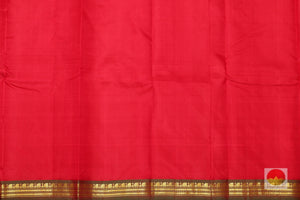 Lite Weight Handwoven Pure Silk Kanjivaram Saree - PV G1700 Archives