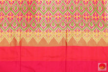 blouse of pochampally silk saree
