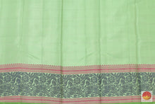 Silk Thread Border - Handwoven Pure Silk Kanjivaram Saree - No Zari - PV NZ 46790 Archives