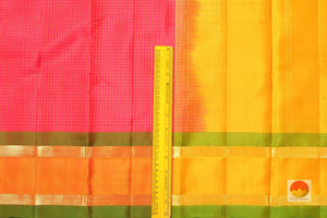 Lite Weight Handwoven Pure Silk Kanjivaram Saree - PV 315 Archives