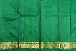 Lite Weight Handwoven Pure Silk Kanjivaram Saree - PVJU 0618 1453 Archives