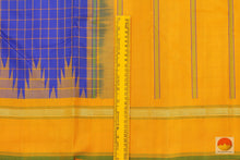 border details of kanjivaram silk saree