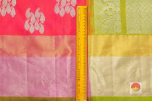 Traditional Design Handwoven Pure Silk Kanjivaram Saree - Pure Zari - PA 163 Archives