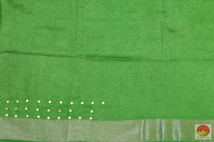 blouse of linen saree